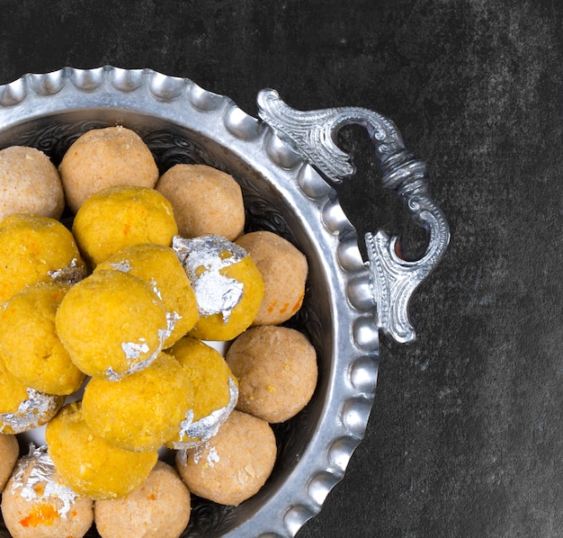 Gehu ke laddu indian traditional sweet food