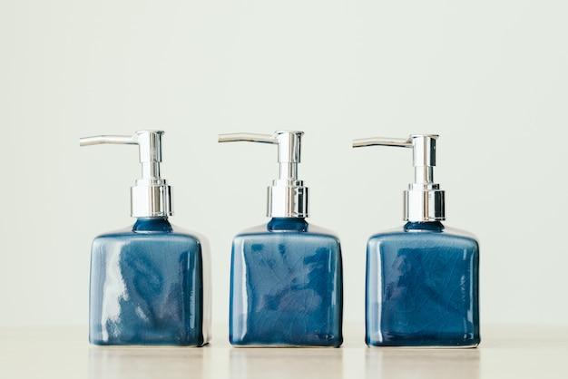 Gel healthy background blank shampoo