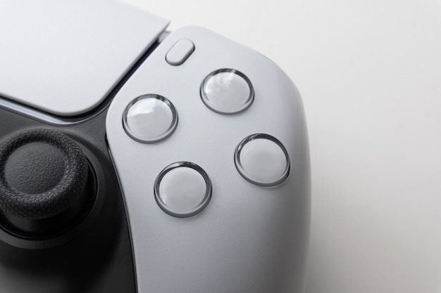 Next gen game controller on close view
