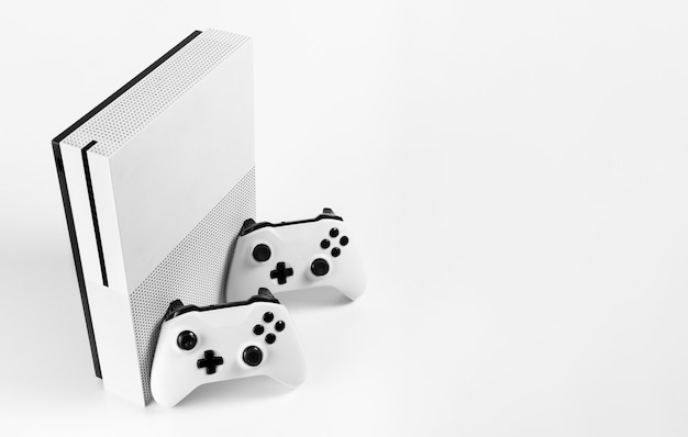 Next gen video game controller and console isolated