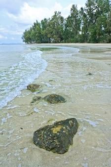 Общий вид на море на востоке таиланда