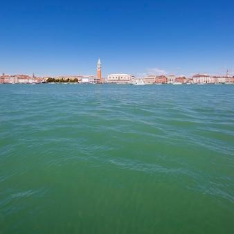 Общий вид венеции, италия.