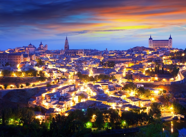 General view of toledo in morning