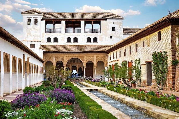 Generalife palace in granada