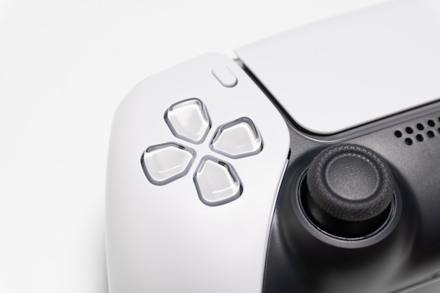 Next generation game controller in close view