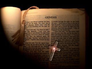 Genesis bible page