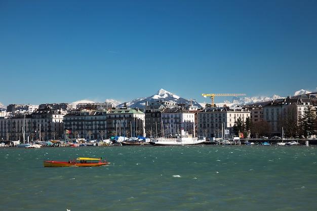 Geneva panoramic view