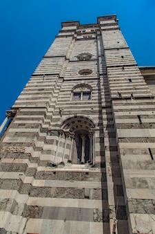 Genoa cathedral in italy