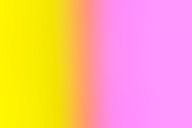 優しいピンクと黄色のグラデーション