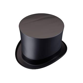 Цилиндр шляпы джентльмена