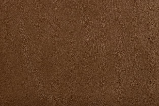 Genuine brown leather texture background dark natural skin background