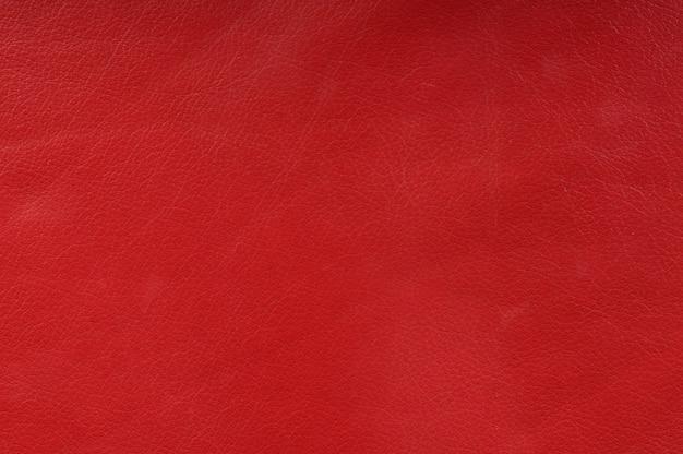 背景の本物の赤い革の質感
