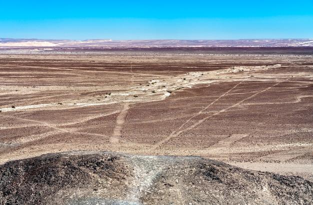 페루 나스카의 지형과 선