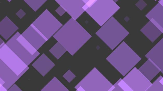 기하학적 추상 보라색 픽셀 모자이크, 간단한 배경입니다. 비즈니스 및 기업 템플릿에 대한 우아하고 평면 3d 그림 스타일