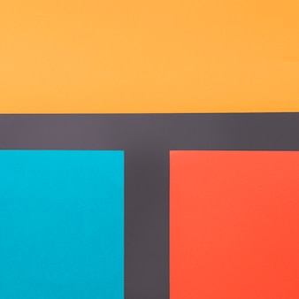 Geometric background with colorful straight forms