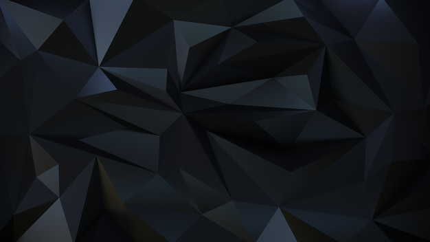Geometric dark 3d background of the particle.