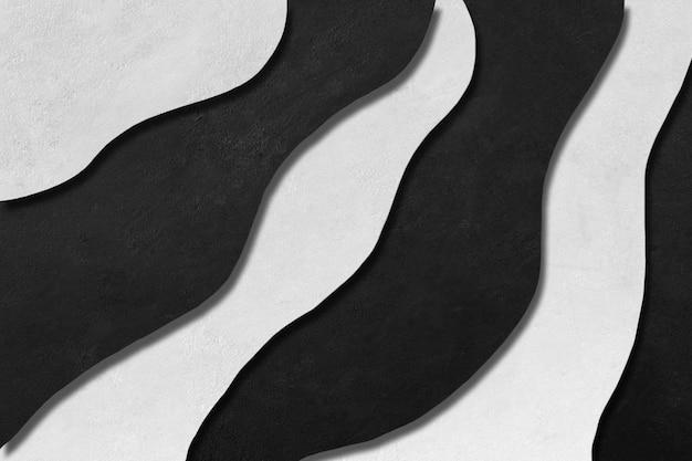 幾何学的なグラデーションの背景。黒と白のコンクリートのテクスチャです。