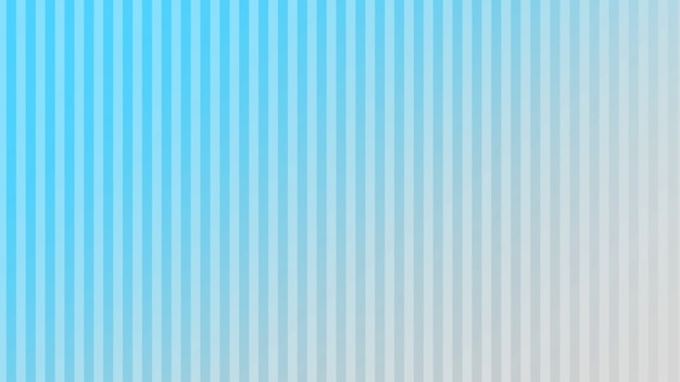 Geometric gradient blue vertical lines, retro abstract background