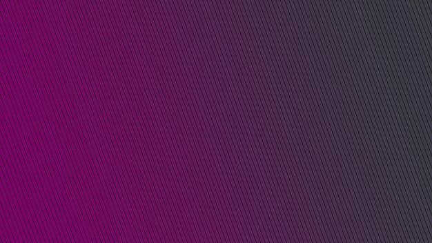 Геометрические градиентные фиолетовые линии, ретро абстрактный фон. элегантный и роскошный стиль 3d иллюстрации для делового и корпоративного шаблона