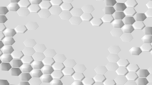 幾何学的なハニカム形状の背景