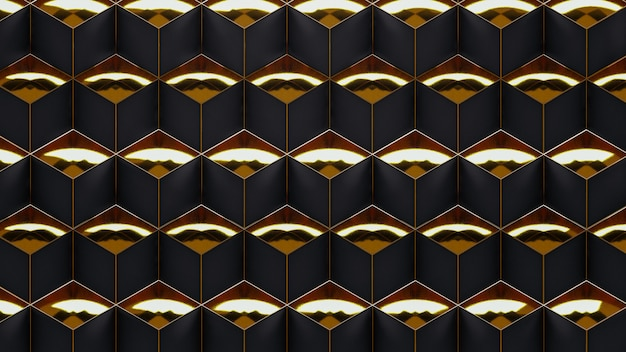 Geometric pattern in art deco surface