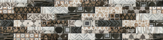 Geometric seamless pattern for interior decor. tile with marble patterns. background texture