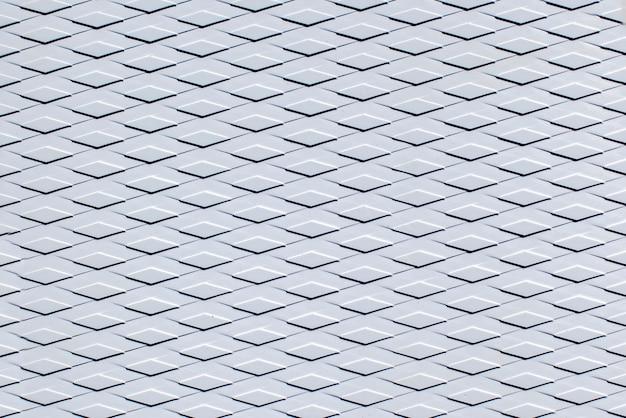 흰색 rhombuses의 기하학적 질감