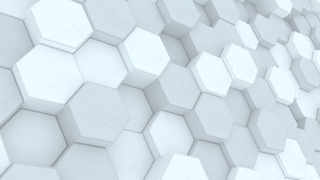 幾何学的な白い背景