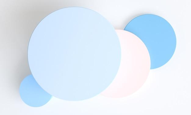 배경, 3d 렌더링, 트렌드 포스터에 대 한 기하학적 추상 디자인.