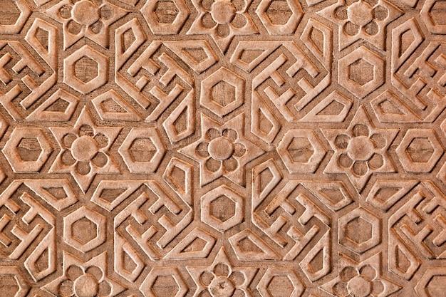 レッドフォートの幾何学模様