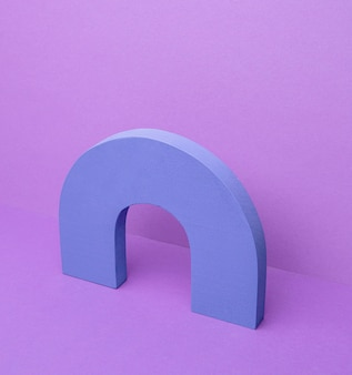 Forma geometrica sulla scrivania