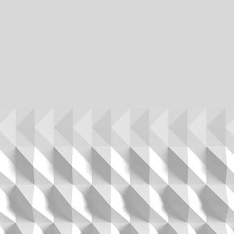 幾何学的形状と影の背景