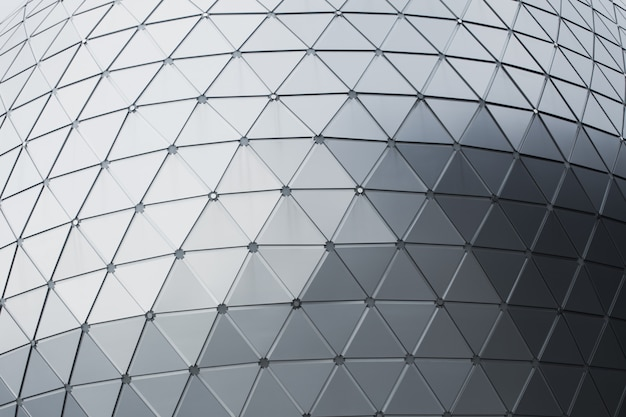 Geometry aluminium composite material (acm) office building exteriors flammable cladding.