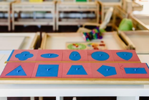 Геометрия и математические материалы в классе монтессори