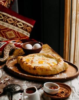 Georgian adjaruli on a table