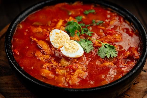 Чахохбили из курицы по-грузински с томатным соусом