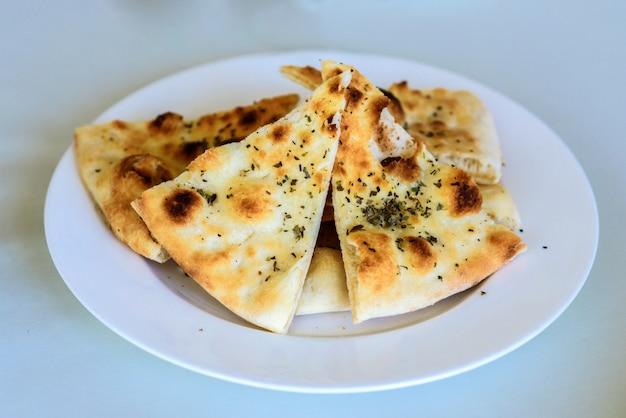 Georgian khachapuri megruli with cheese