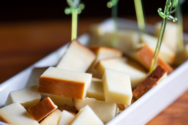 Georgian suluguni cheese