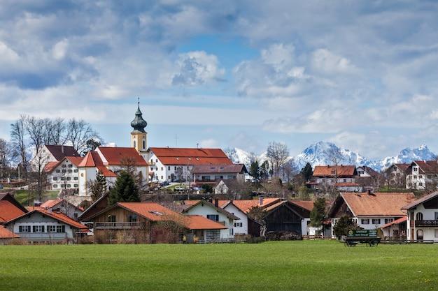 독일 시골과 마을