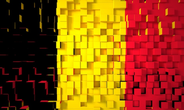 German geometric flag