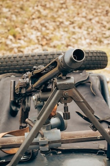 German machine gun of world war ii