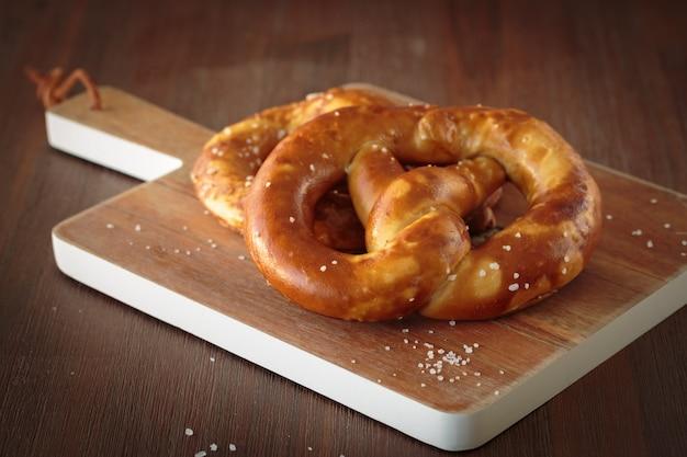 The german pretzel