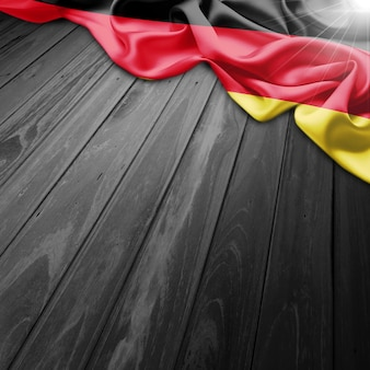 Germania flag background