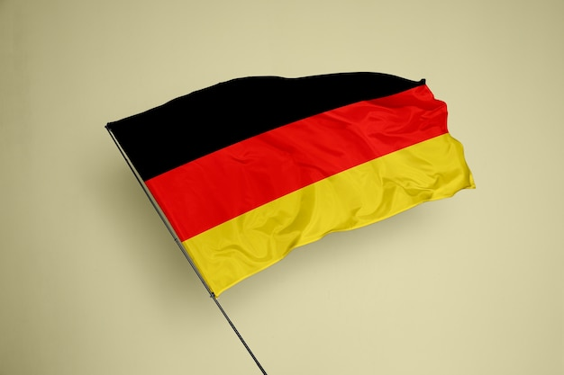 Germany flag on a background