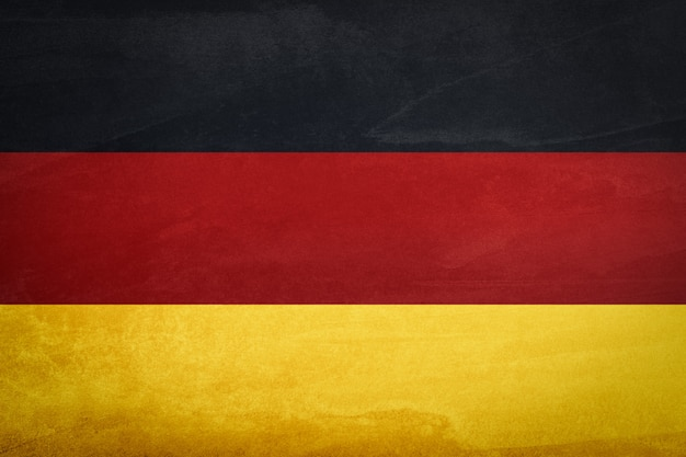 Germany flag with background texture