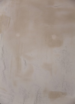 Gesso fresh plaster texture in stucco wall