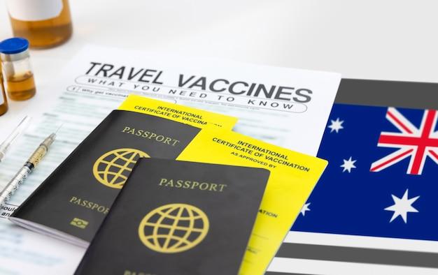 旅行前に予防接種の国際証明書を取得する