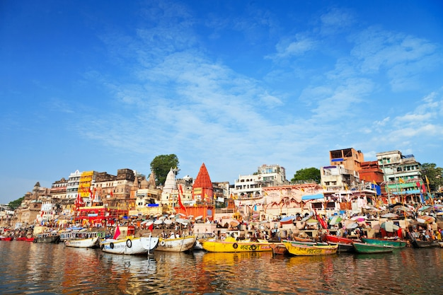 Ghats on ganga