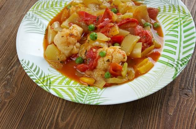Гивечи - овощное рагу или приготовленный овощной салат.