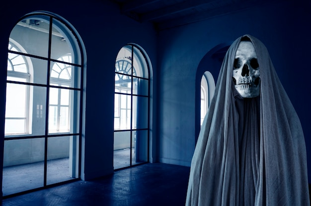 Ghost concept, horror movie
